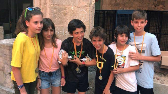 Alumnes De La Llacuna Participen A La Biatló Escolar
