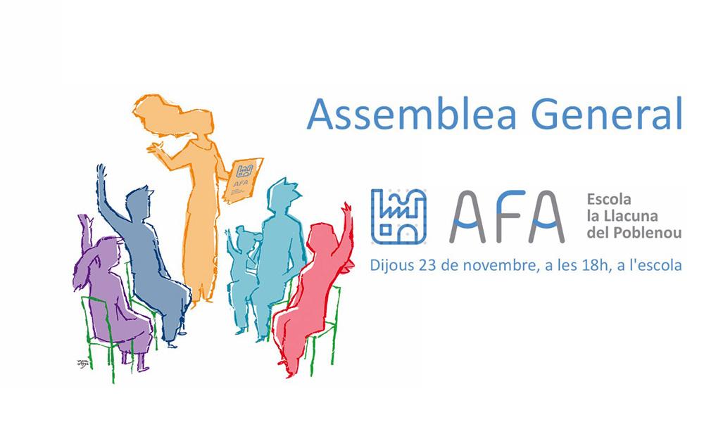Convocatoria Assemblea General 23 Novembre 2017