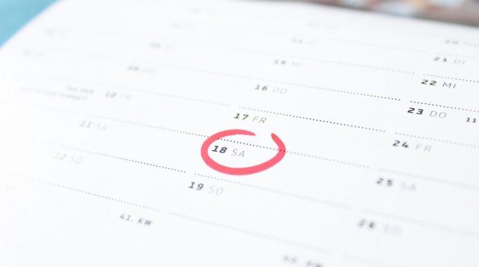 Calendari De Vacances I Festius Pel Curs 2019- 2020