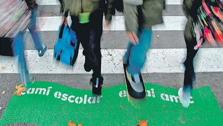 """Reactivem el projecte """"Camí escolar, espai amic"""""""