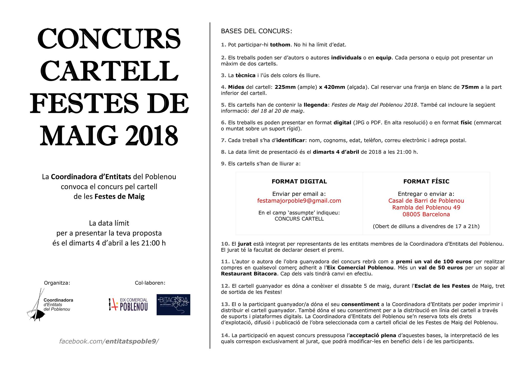 180305 Bases concurs cartell