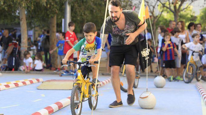 Primera Festa De La Mobilitat A La Llacuna