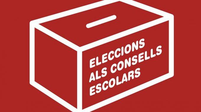 Eleccions Al Consell Escolar 2018: Divendres, 30 De Novembre, Vota!