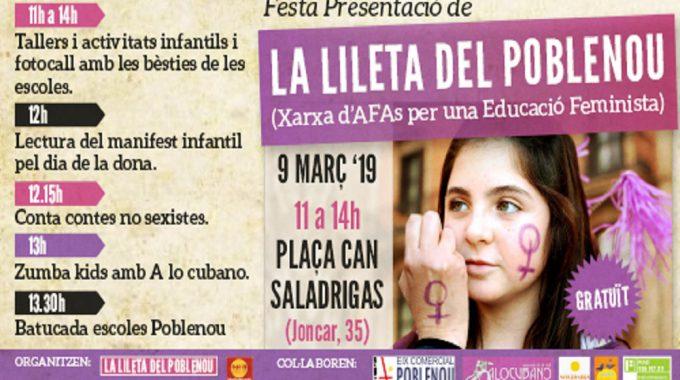 Festa De Presentació De La Lileta Del Poblenou
