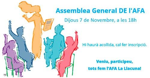 Convocatòria D'Assemblea General De L'AFA 2019