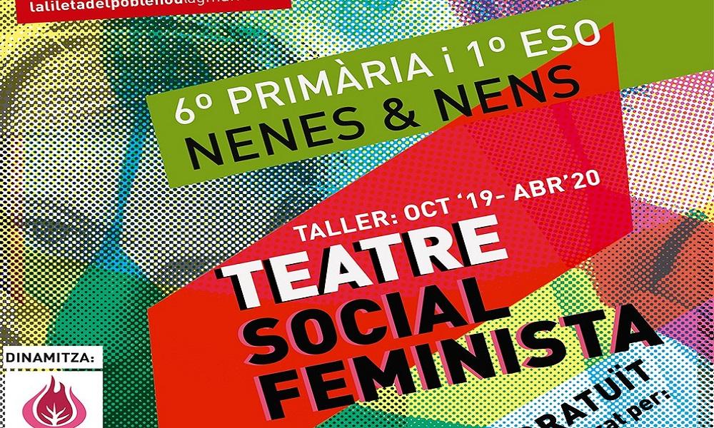 Taller gratuït de teatre social feminista per a nens i nenes de 6è