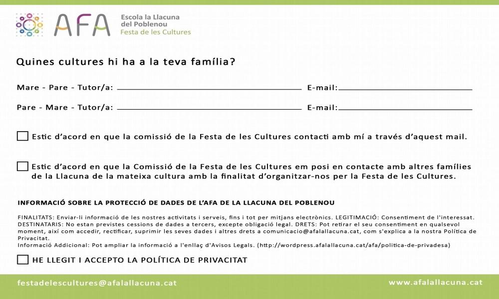 Festa de les Cultures 2020: Quantes cultures hi ha a La Llacuna?