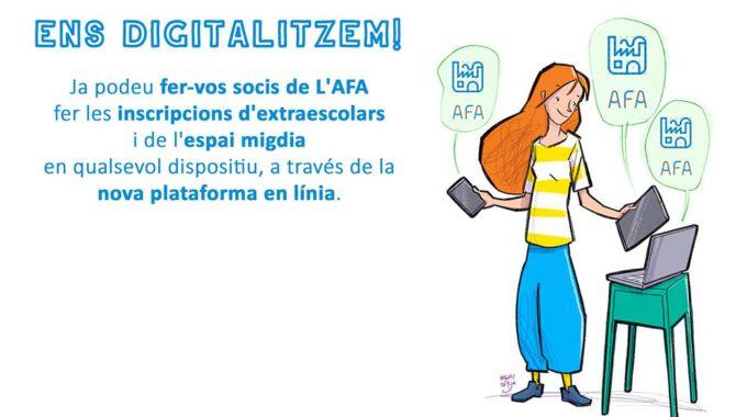 La Nova Aplicació Digital De L'AFA. Primer Pas: Donar-nos D'alta.