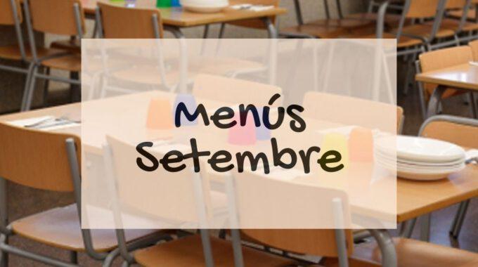 Menús De Setembre I Guia 2020 De L'alimentació Saludable En L'etapa Escolar
