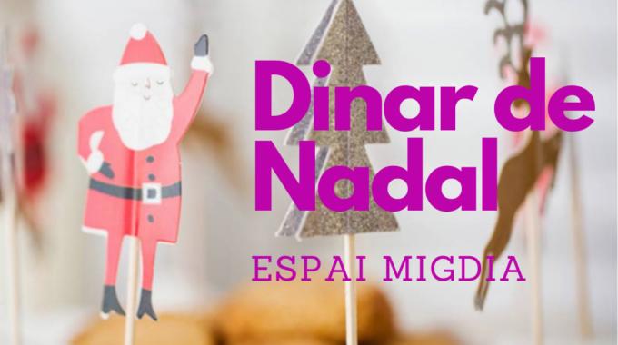 El 21 De Desembre, Dinar De Nadal A L'espai Migdia