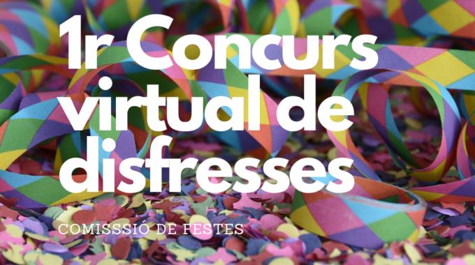 Bases Del 1r Concurs Virtual De Disfresses De La Llacuna