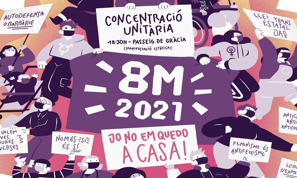 Agenda: què es prepara per aquest 8 de Març?