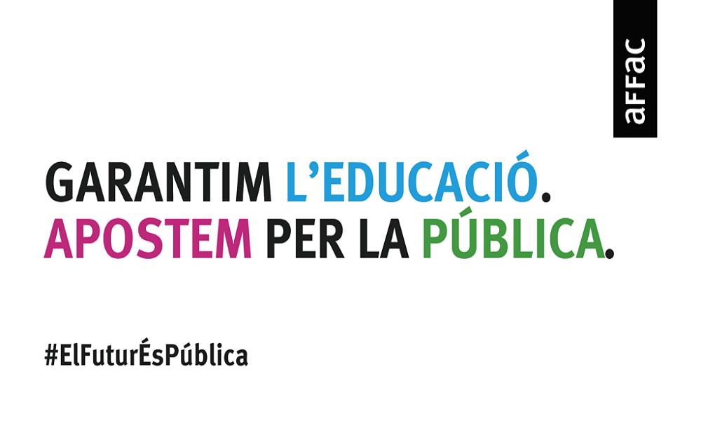 Matricula 2021-2022: #ElFuturÉsPública