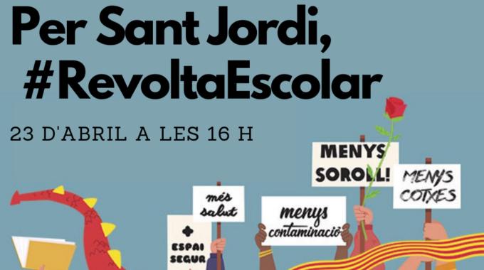 #RevoltaEscola A La Llacuna: Nou Tall De Carrer El 23 D'abril