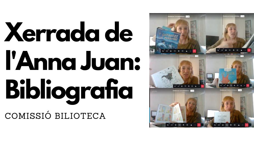 Els llibres recomanats per l'Anna Juan Cantavella