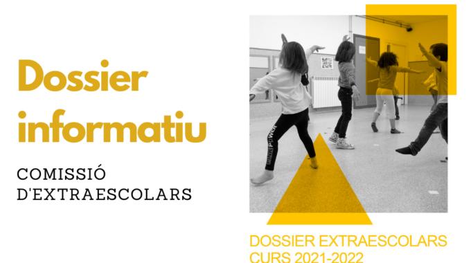 Dossier D'activitats Extraescolars Pel Curs 2021-2022