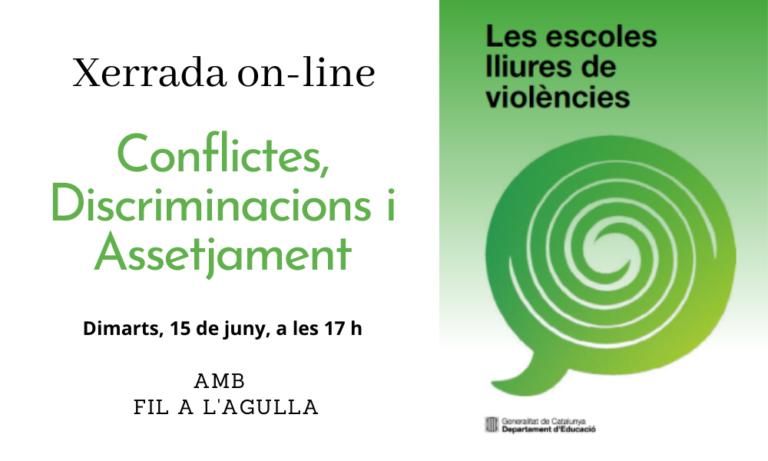 """Escoles lliures de violència: Inscripcions per a la xerrada-taller """"Conflictes, discriminacions i assetjament"""""""