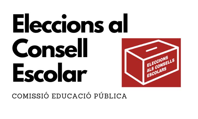 Eleccions al Consell Escolar 2021